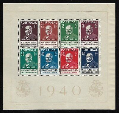 PORTUGAL 1940 Stamp Centenary SG MS928 MH/* (Cat £150)