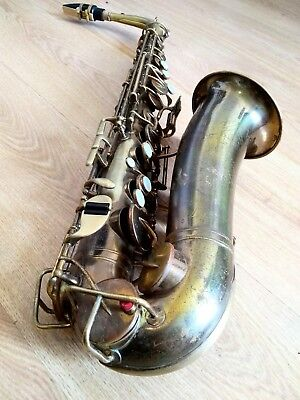 American Saxophone - Holton - Great player - Beautiful Horn