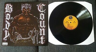 Body Count Cop Killer 12'' LP Vinyl MINT Bodycount Copkiller