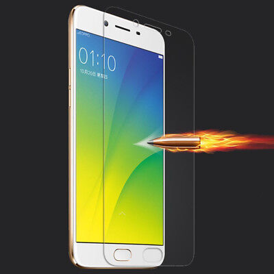 2x 9H 2.5D Temper Glass Screen Protector film For Oppo A35 A37 F1 F1S F3