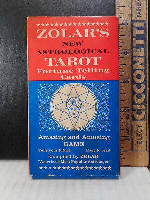 Zolar's New Astrological Tarot Fortune Telling Cards  514TB.