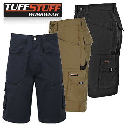 Mens Tuff Stuff Heavy Duty Combat Work Summer Shorts Pro Trade Multi Pockets 822