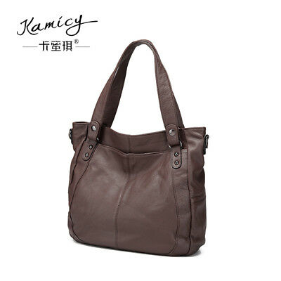 e8e043b44995 Kamicy new ladies handbags Genuine Leather Handbags large single shoulder  bag