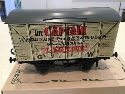 Darstead O Gauge Wagon The Captain Private Owner Van