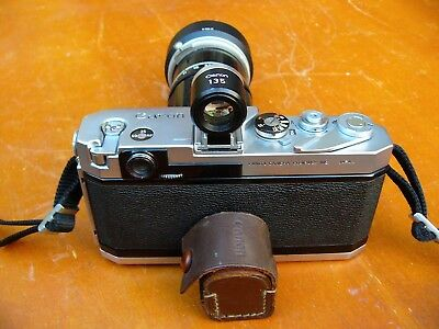 Canon 135mm Linked Auxiallary Viewfinder, Good Optical & Working Condition Re L1