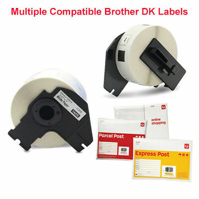 Compatible with Brother DK-11201 DK-11202 DK-22205 White Label for QL-570 QL-700