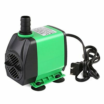 800GPH (3000L/H) Submersible Water Pump For Pond, Aquarium, Fish Tank 24W