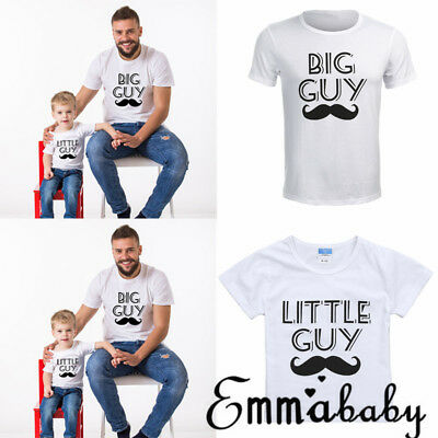 Emmababy AU STOCK Dad Kids Baby Boys Family Matching Outfits Shirt Tops Clothes