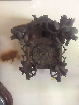 black forest cuckoo clock for repair
