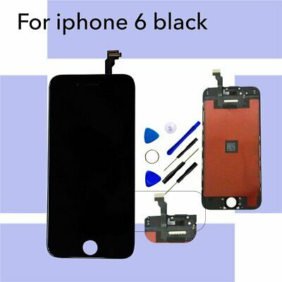 Replacment LCD Digitizer Display Touch screen Assembly Black+ For iPhone 6 4.7""