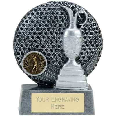 "GOLF Trophy FREE ENGRAVING Personalised Engraved Ball Award 3.25"" 4"" 5"" or 6"""