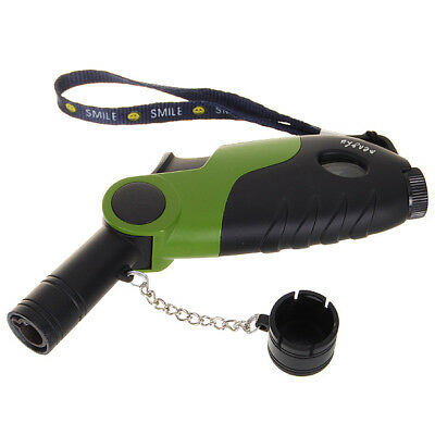 45 Degree Angle Jet Flame Butane Torch Lighter Refillable Windproof