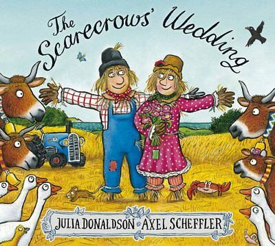 The Scarecrows' Wedding by Julia Donaldson New Paperback Book