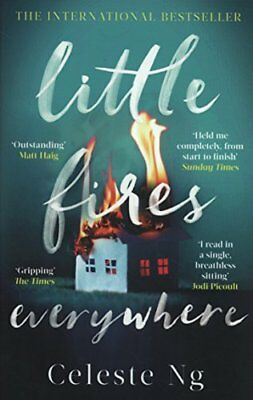 Little Fires Everywhere: The New York Times Top by Celeste Ng New Paperback Book