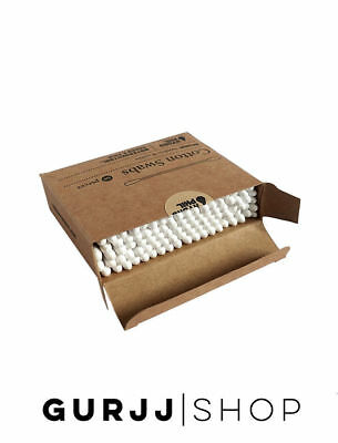 Hydrophil Bamboo Wood Cotton Ear Buds Swabs | Zero Waste | Eco