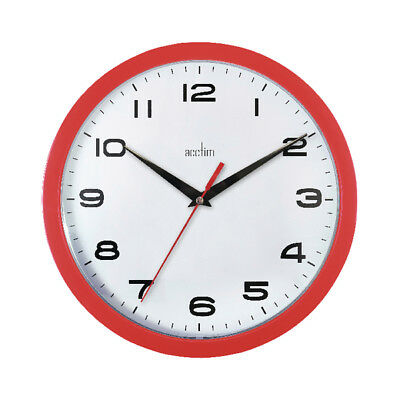 Acctim Quartz Wall Clock School Office Home Study Garage Plastic wall clock