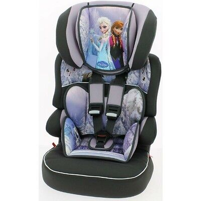 Disney FROZEN Beline SP LUXE Car Seat and High Back Booster