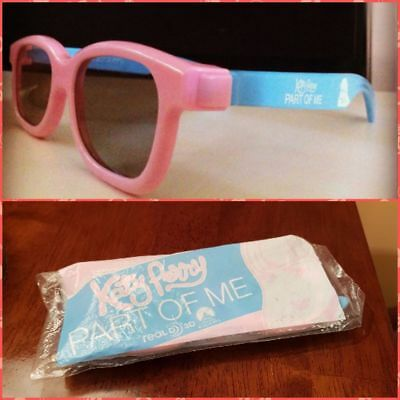 WOW Katy Perry extremely RARE unopened 3D glasses Part of Me movie collectors