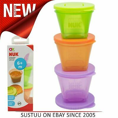 Annabel Karmel 6 Stackable Food Pots│Baby Food Storage Box│BPA Free│Pack Of 6│