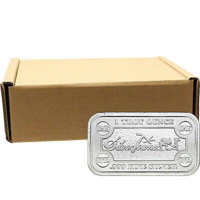 SilverTowne Money Bars 1oz .999 Silver Bar 500pc