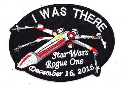 """Star Wars Rogue One Premiere 3.5"""" Embroidered Patch- USA Mailed (SWPA-FA-19)"""