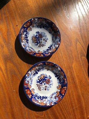 Pair Of Chinese Japan Bowls By Ridgway