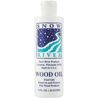 Snow River Food Safe Wood Preserve / Protect Conditioner Oil 8 OZ 7V03389