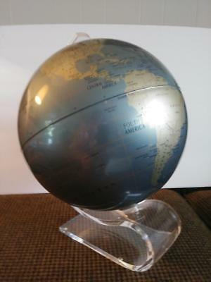 "Gorgeous 1970's Replogle Diamond Marquise Vintage 12"" Globe Metallic"