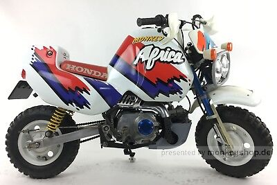 Honda Monkey Z50 BAJA Africa Twin 50cc Mokick original made in Japan 666 km
