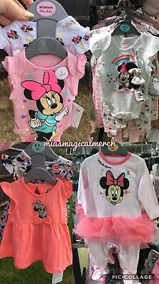 BNWT Primark Baby Girl's DISNEY Minnie Mouse Grow Tutu 3 Piece Set W/Headband