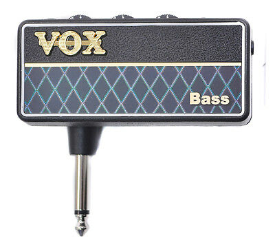 VOX AP2-BS amPlug2 Bass NEW HEADPHONE GUITAR AMPLIFIER