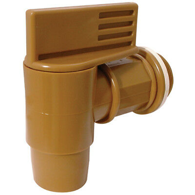 "2"" Polyethylene Full Bore Drum tap, can be used with thick liquids"