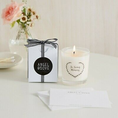 'In Loving Memory' Mini Remembrance Votive Candle - Funeral Favour Sympathy Gift