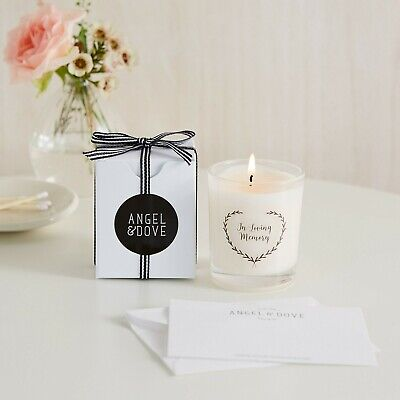 In Loving Memory Votive Candle with Bag & Card - Funeral, Sympathy Gift