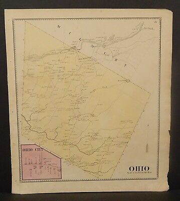 New York Herkimer County Ohio Township 1868   Y16#88