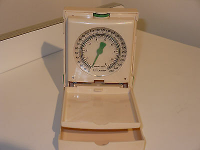 Vintage Avon Compact Portable Scale Ounces & Grams Diabetic Jewelry Spices Herbs