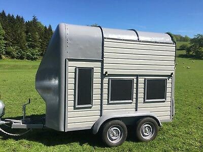 Rice horse box trailer - mobile bar business - food or drink