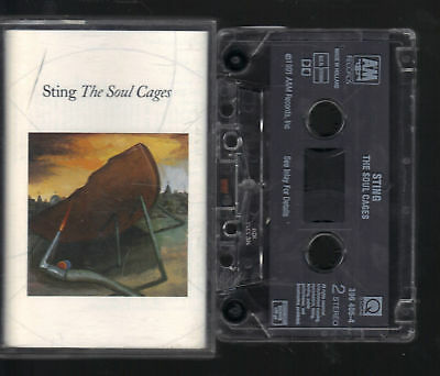Sting- The Soul Cages MC Kassette