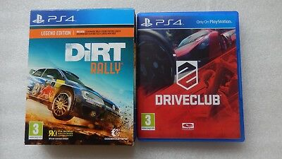 Dirt Rally Legend Edition PS4 Game And Driveclub For Sony PlayStation 4
