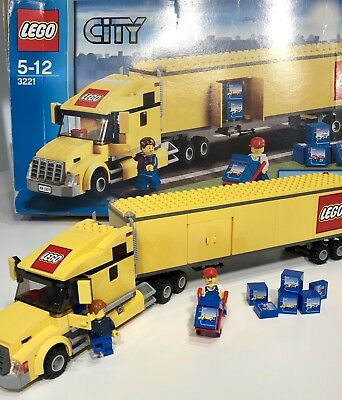 Lego City Truck 3221 New In Opened Box 4200 Picclick Uk