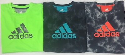 Boy's Youth adidas Climacool Polyester Shirt