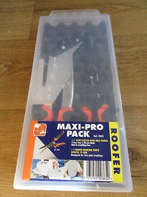 Edma 0365 Maxi-Pro Roofers Tool Pack, Unused, Slates / Zinc Etc, Boxed
