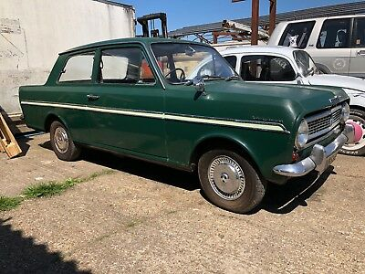 Very Rare 1966 Vauxhall Viva Sl Rolling Project With The Triple Rear Lights