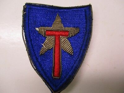 WWII Texas State Guard Bullion Shoulder Patch