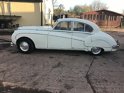 1960 3.8 Jaguar Mk 9 For Restoration In Old English White,other Jags Available !