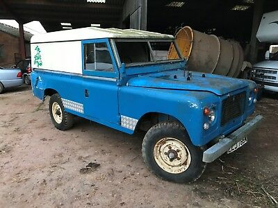 1980(W) Landrover 109 Stage One For Resto,overdrive G/box And Perkins Diesel