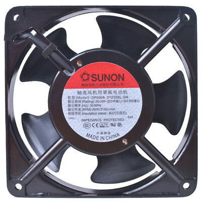 for SUnon DP200A 2123XBL.GN Axial cooling fan 120x120x38mm 230V 2850RPM