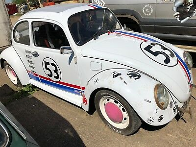 Herbie The Beetle Is Up For Sale 1972 With Tunedalfa Romeo Engine Custom Exhaust