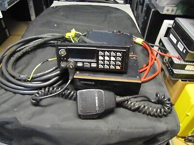 GE Ericsson M/A Com Orion D2HHG7 VHF 110w 150-174mhz 2 Way Mobile Radio Complete