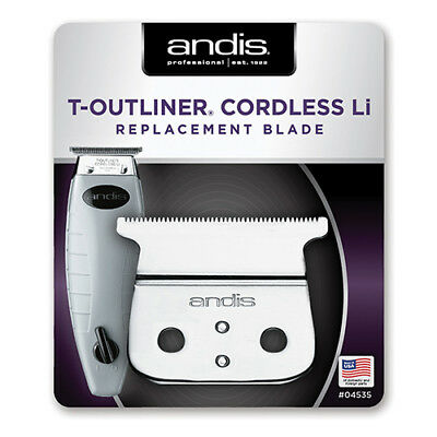 Andis T-Outliner Cordless Li Replacement Blade Barber Stylist Clipper (#04535)